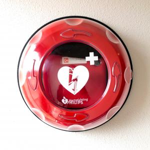 AED ingang kleedkamers